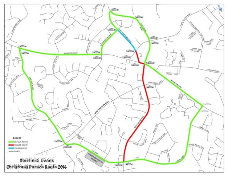 Map Columbia County Christmas Parade 2020 Christmas Parade | Calendar Month View | Columbia County Sheriff's